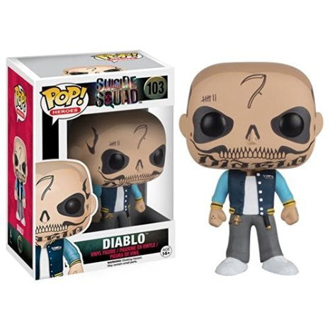 Funko POP  Suicide Squad Action Figure, El Diablo