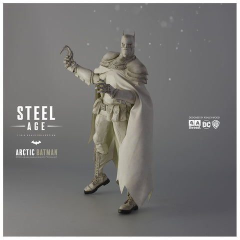 3A Steel Age Arctic Batman Figure DC