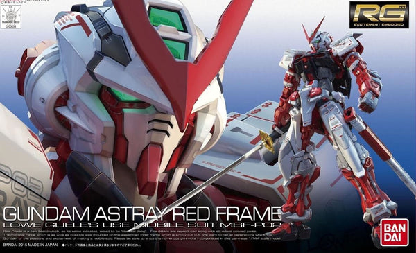 BANDAI Model Kit 1/144 RG#19 Gundam Astray Red Frame