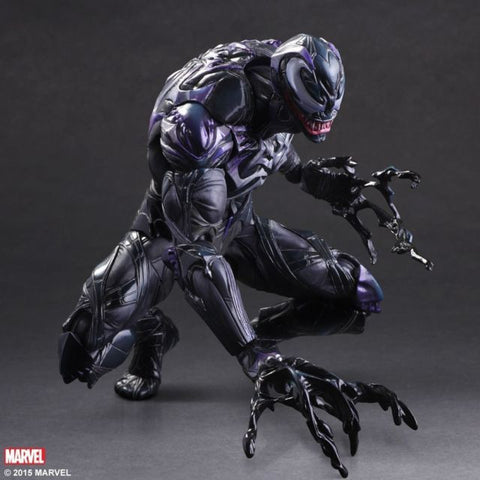 SQUARE ENIX Play Arts Kai Venom Marvel Universe Variant Spider Man Action Figure