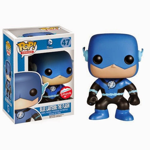 C2e2 funko pop exclusive D.C. Blue flash