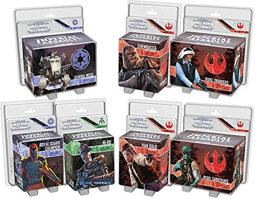 Star Wars Imperial Assault - Ally and Villain Pack Bundle