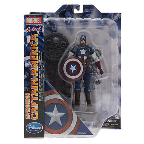 Disney Exclusive Marvel Select: Captain America Hydra Base