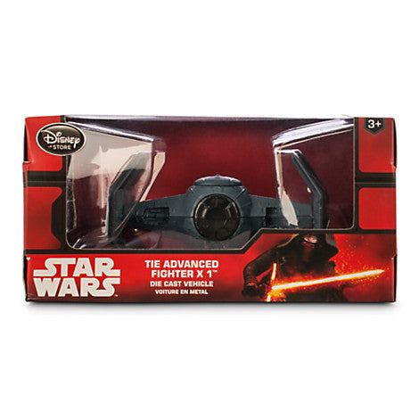 Star Wars TIE Advanced Fighter X 1 Die Cast Vehicle