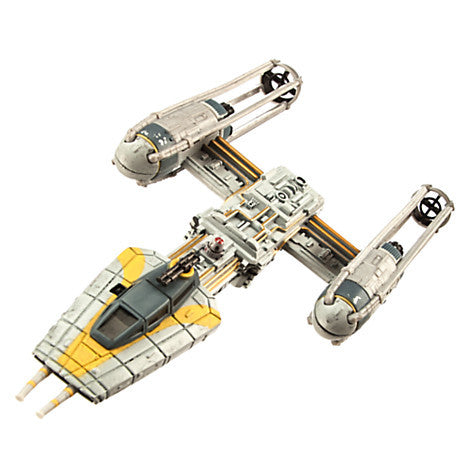 Star Wars Y-Wing Fighter Die Cast Vehicle