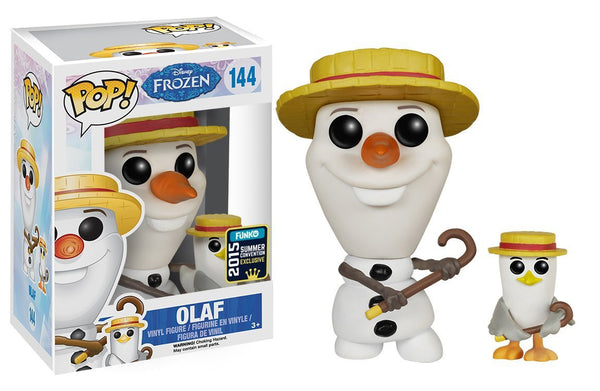 Funko POP Disney: Frozen - New Pose Olaf -2015 SDCC Exclusive Action Figure