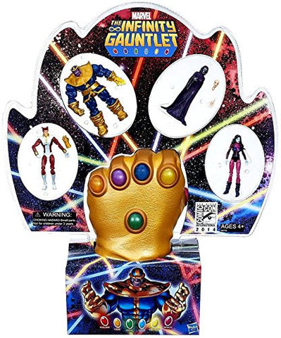 2014 San Diego Comic Con (SDCC) Exclusive Infinity Gauntlet Set Hasbro Marvel Universe