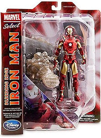 Marvel Select Action Figure Bleeding Edge Iron Man
