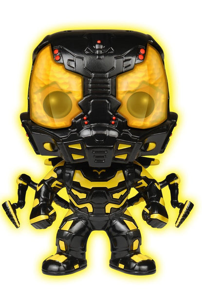 Pre Order : Funko POP Movies: Ant-Man Glow in The Dark Yellow Jacket Action Figure