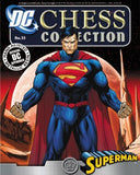 DC Justice League Chess Collector Figure #33 Superman As the White King with Magazine