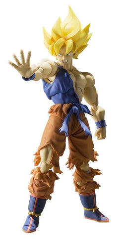 BANDAI Tamashii Nations S.H. Figuarts Super Saiyan Son Goku Super Warrior Awakening Action Figure