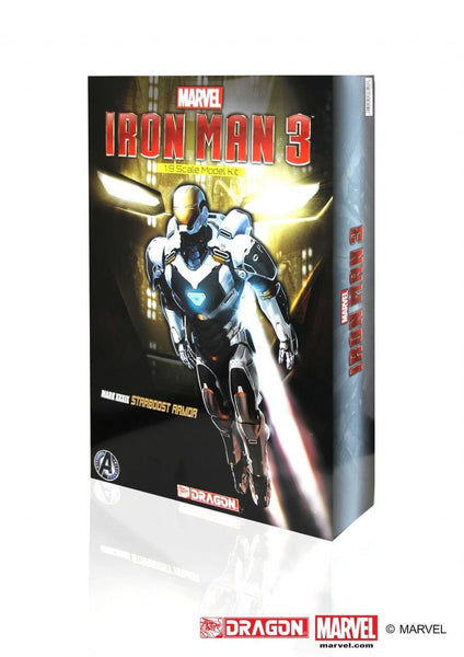 Dragon Models Iron Man 3 - Mark XXXiX(39) - Starboost Armor Model Kit (1/9 Scale)