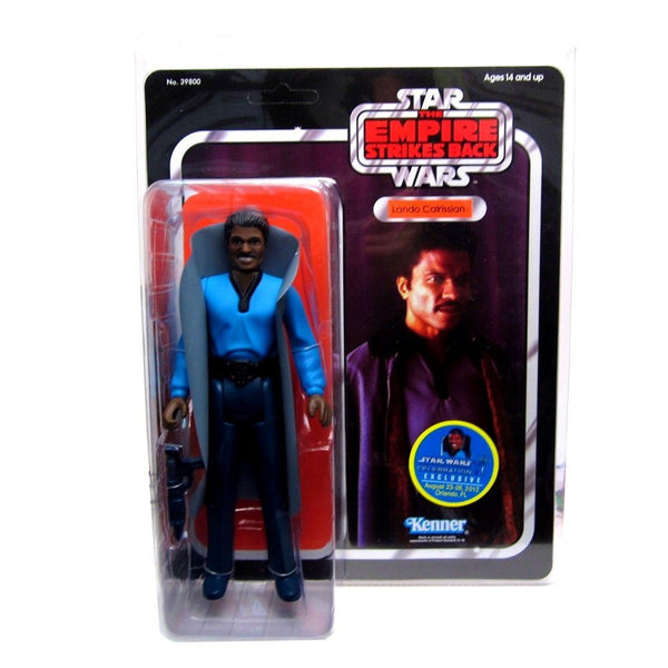 Star Wars Lando SW Celebration 6 Exclusive Jumbo Kenner Figure