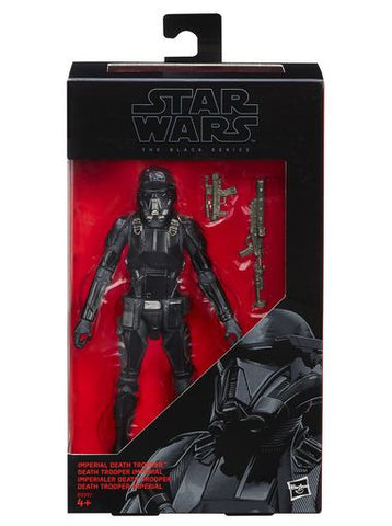 Star Wars Black series death trooper 6 inch Hasbro