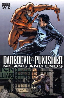 DAREDEVIL VS. PUNISHER: MEANS AND ENDS TPB