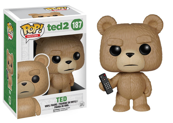 FunKo POP Movies: Ted 2 - Ted with Remote Toy Figure Movie Exclusive