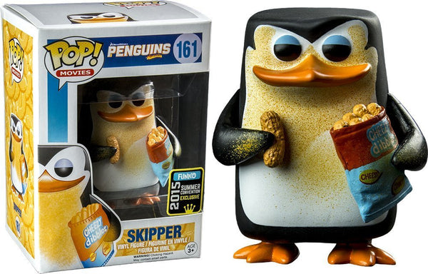 Funko Pop! Movies #161 Penguins Cheesy Skipper (2015 Summer Convention Exclusive)