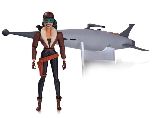 DC Collectibles Batman Animated Series: The New Batman Adventures: Roxy Rocket Deluxe Action Figure