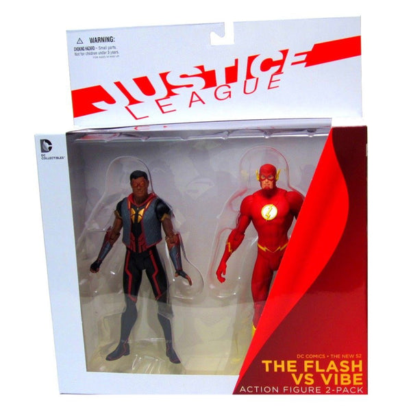 DC Collectibles DC Comics The New 52: The Flash vs. Vibe Action Figure, 2-Pack