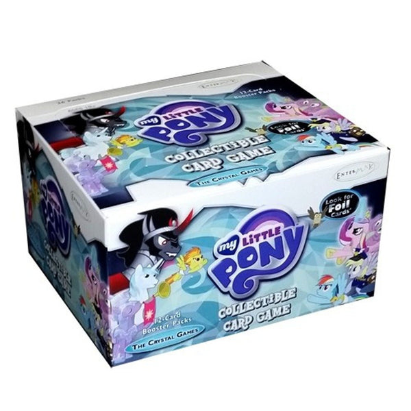 My Little Pony Friendship is Magic The Crystal Games Booster Box (Enterplay)