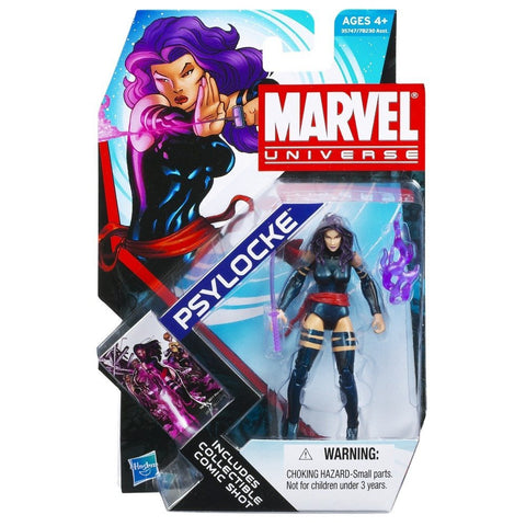 Marvel Universe 3 3/4 Inch Series 4 Action Figure Psylocke
