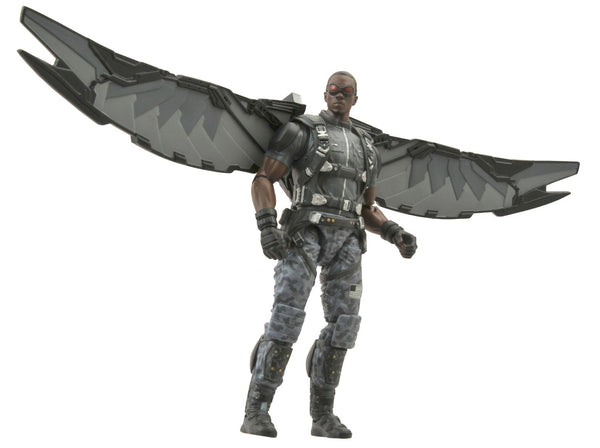 Diamond Select Toys Marvel Select: Captain America 2: The Falcon Action Figure