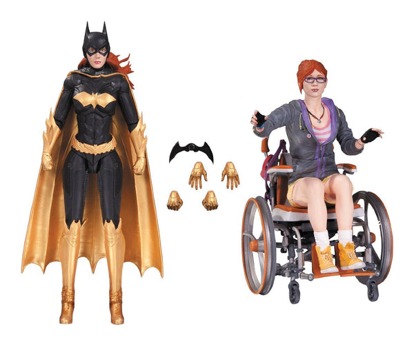 DC Collectibles Batman Arkham Knight Batgirl & Oracle Action Figure (2 Pack)
