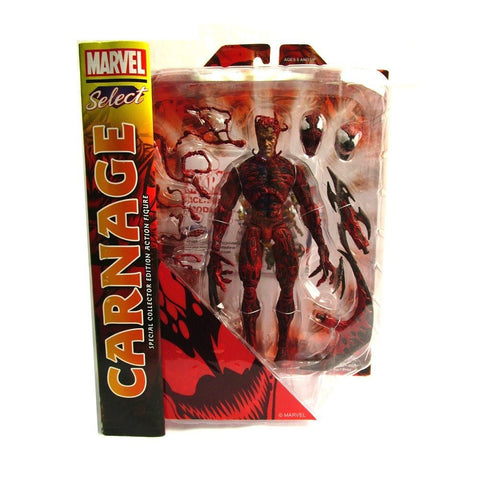 Diamond Select Toys Marvel Select: Carnage Action Figure