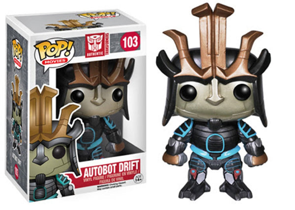 Funko POP! Movies: Transformers: Age of Extinction-Drift Action Figure