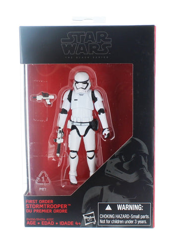 Star Wars Black Series, First Order Stormtrooper Action Figure, 3.75 Inches