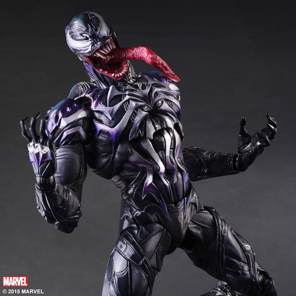 Spider-Man: Venom Variant Play Arts Kai Action Figure