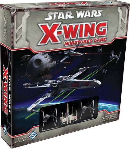 Star Wars X Wing Miniatures Game Starter Set