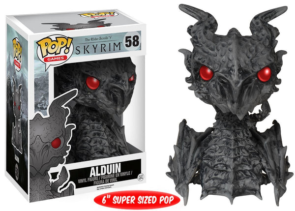"FunKo POP Games: Skyrim - Alduin 6"" Toy Figure"