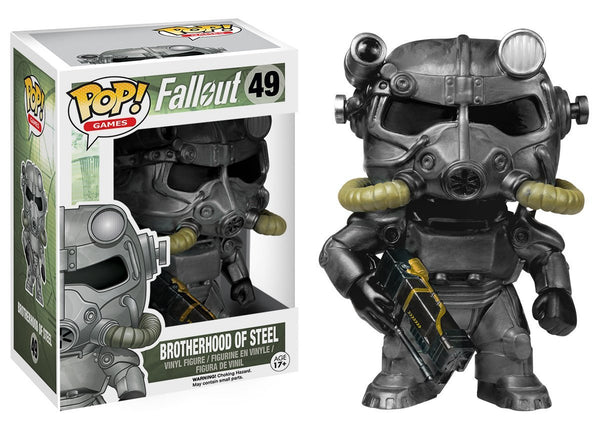 Funko POP Games: Fallout - Brotherhood of Steel Action Figure