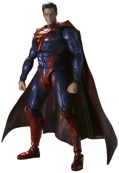 "BANDAI Tamashii Nations S.H. Figuarts Superman (Injustice Ver.) ""Injustice"" Action Figure"