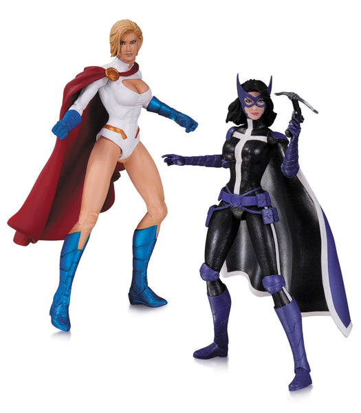 DC Collectibles DC Comics New 52: Powergirl and Huntress Action Figure (2-Pack)