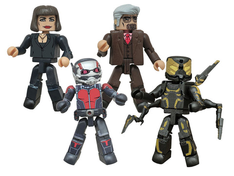 Diamond Select Toys Marvel Minimates: Ant-Man Movie Box Set Action Figure