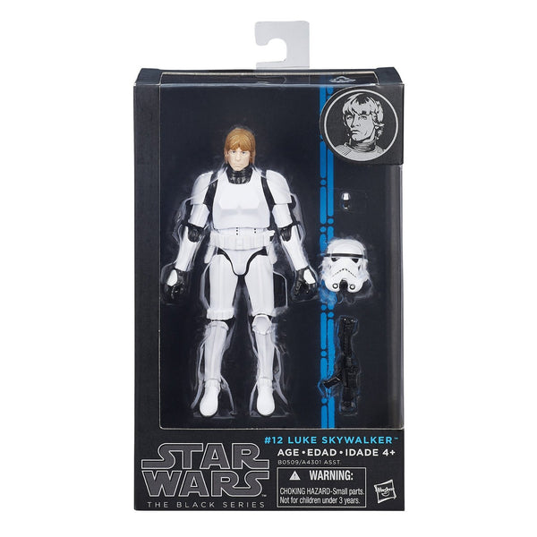 Star Wars The Black Series Luke Skywalker (Stormtrooper Disguise) 6 Inch Figure