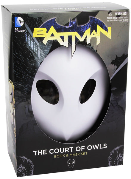 BATMAN: THE COURT OF OWLS BOOK AND MASK SET (THE NEW 52)