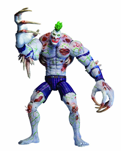 DC Collectibles Arkham Asylum: Deluxe Action Figure: Titan Joker