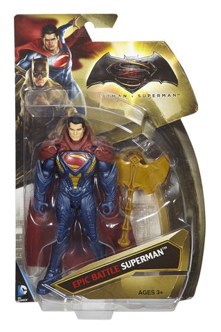 "Batman V Superman: Dawn of Justice Epic Battle Superman 6"" Figure"