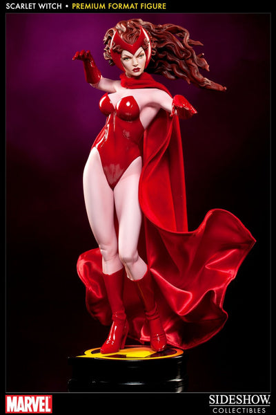 Sideshow Collectibles - Marvel Premium Format Figure 1/4 Scarlet Witch 48 cm