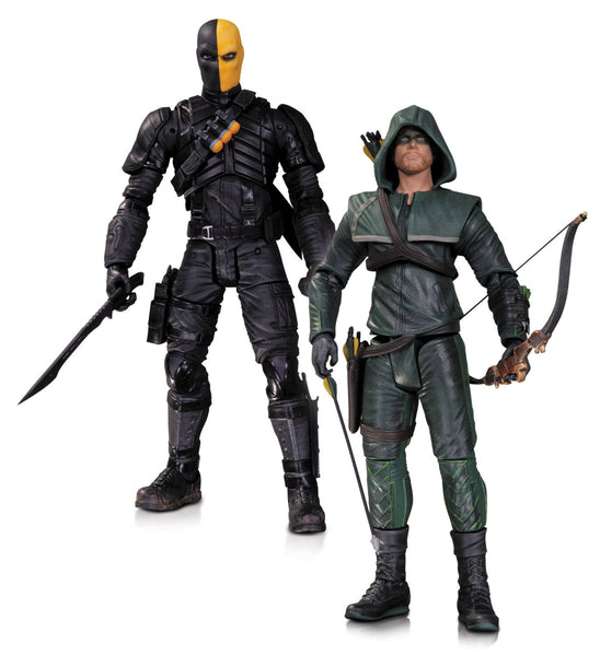 DC Collectibles Arrow: Oliver Queen and Deathstroke Action Figure, 2-Pack