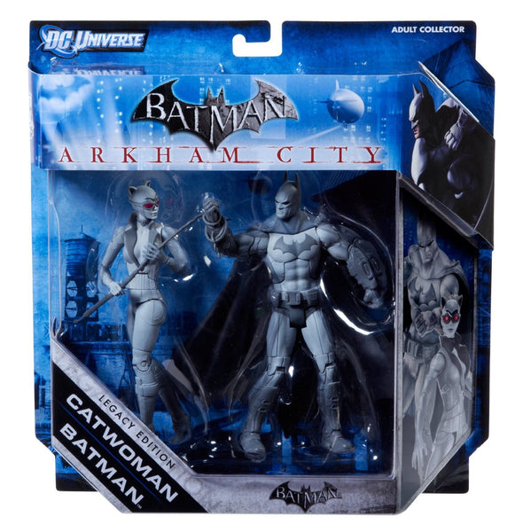 Batman Legacy Arkham City Batman and Catwoman Collector Figure 2-Pack (Black and White Deco)