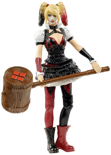"DC Comics Multiverse: 4"" Arkham Knight Harley Quinn Action Figure"
