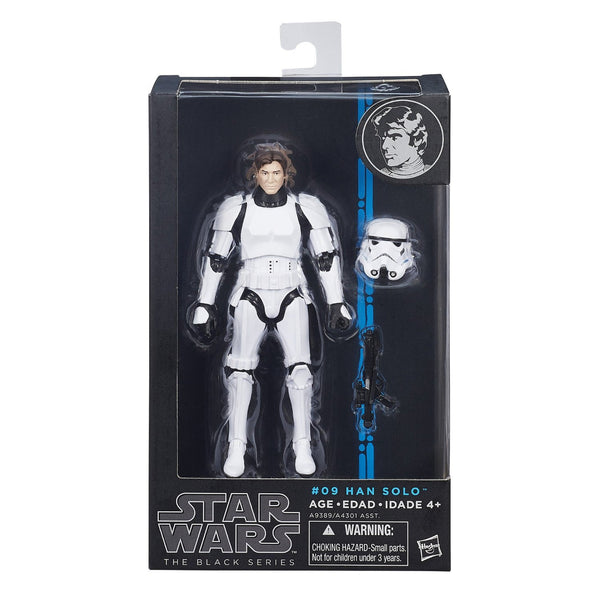 "Star Wars The Black Series 6"" Han Solo in Stormtrooper Figure"