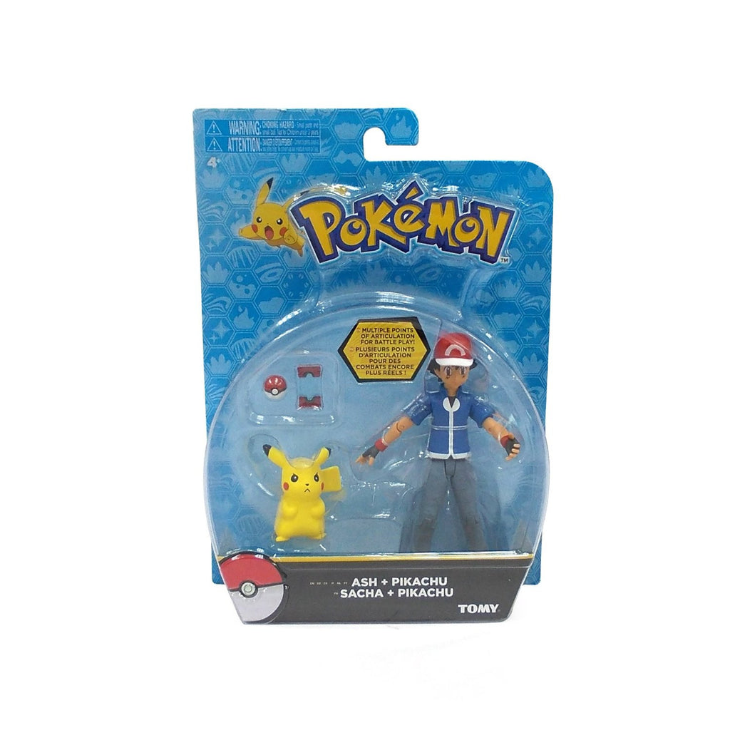 Pok 233 Mon Hero Figure Ash And Pikachu Atomic Candy