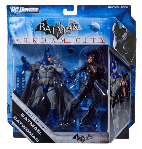 DC Batman Legacy Edition Series 2 Action Figure 2Pack Batman Catwoman FULL COLOR Arkham City