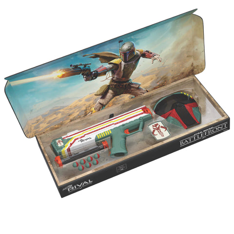 GameStop exclusive NERF RIVAL STAR WARS BATTLEFRONT APOLLO XV-700 Blaster and Face Mask set