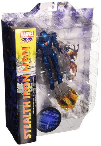Diamond Select Toys Marvel Select: Stealth Iron Man Action Figure